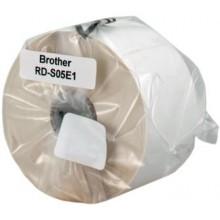 Brother Etichette RD-S05E1 51x26mm, Carta, Bianco, 1552 Bobina