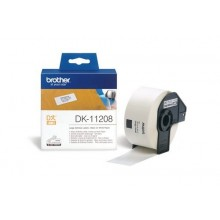 Brother Etichette DK-11208 etichette in carta per indirizzi, 38x90 mm bianco 400 et./rullo