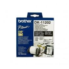 Brother Etichette DK-11202 etichette di spedizione, 62x100mm bianco 300 et./rullo