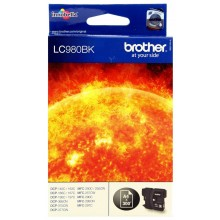 Brother Cartuccia d'inchiostro nero LC980bk LC-980 circa 300 pagine