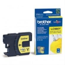 Brother Cartuccia d'inchiostro giallo LC980y LC-980 circa 260 pagine