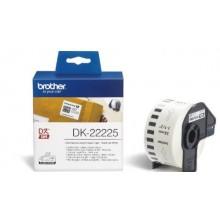 Brother Etichette DK-22225 etichetta a lunghezza continua, 38mm x 30,48m