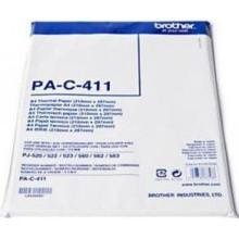 Brother Carta PAC411 PA-C-411 Carta termica DIN A4, 100 Fogli