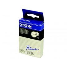 Brother nastro laminato nero su bianco TZe-FX251 TZ-FX251 24 mm x 8 m, laminato