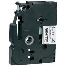 Brother nastro laminato nero su bianco TZe-FX221 TZ-FX221 9 mm x 8 m, laminato