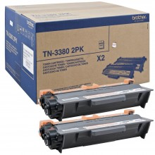 Brother Multipack nero TN3380TWIN TN-3380 2PK Double Pack 8.000 Pagine