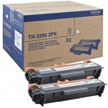 Brother Multipack nero TN3390TWIN TN-3390 2PK 2x12.000 p.