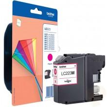 Brother Cartuccia d'inchiostro magenta LC223M LC-223 circa 550 pagine 5.9ml