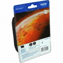 Brother Multipack nero LC1100HYBKBP2DR LC1100HY 2 cartucce LC1100hybk