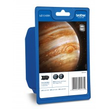 Brother Multipack nero LC1240BKBP2DR LC1240 2 cartucce d'inchiostro