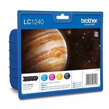 Brother Multipack nero/ciano/magenta/giallo LC1240VALBPDR LC1240 confezione multi: bk/c/m/y