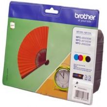 Brother Multipack nero/ciano/magenta/giallo LC129XLVALBPDR LC-125 XL/LC-129 XL 4 cartucce d'inchiostro: BK+C+M+Y