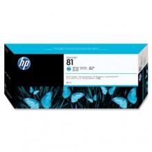 HP Cartuccia d'inchiostro ciano (chiaro) C4934A 81 680ml