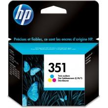 HP Cartuccia d'inchiostro colore CB337EE 351 Circa 170 Pagine