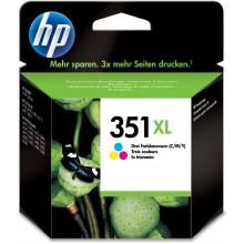 HP Cartuccia d'inchiostro colore CB338EE 351 XL Circa 580 Pagine