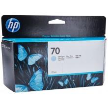 HP Cartuccia d'inchiostro ciano (chiaro) C9390A 70 130ml