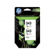 HP Multipack  CB332EE 343+343 2x C8766EE (HP343)