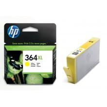 HP Cartuccia d'inchiostro giallo CB325EE 364 XL Circa 750 Pagine 9ml