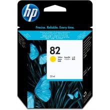 HP Cartuccia d'inchiostro giallo CH568A 82 28ml