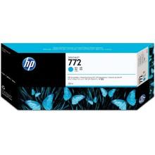 HP Cartuccia d'inchiostro ciano CN636A 772 300ml inchiostro HP Vivera pigmentato