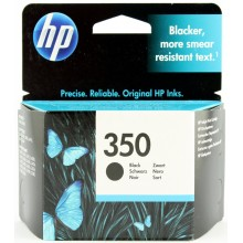 HP Cartuccia d'inchiostro nero CB335EE 350 Circa 200 Pagine  ink cartridge, standard