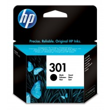 HP Cartuccia d'inchiostro nero CH561EE 301 Circa 190 Pagine 3ml