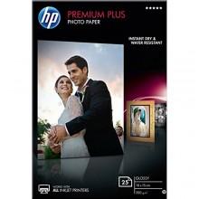 HP Carta  CR677A Premium Plus 10x15cm, 25 fogli, premio piu carta fotografica lucido