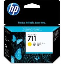 HP Cartuccia d'inchiostro giallo CZ132A 711 29ml  ink cartridge, standard