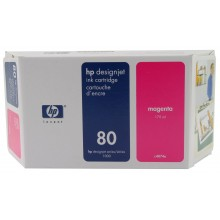 HP Cartuccia d'inchiostro magenta C4874A 80 175ml capacità inferiore