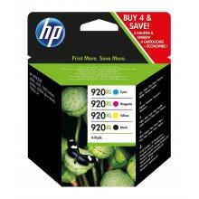HP Multipack nero / ciano / magenta / giallo C2N92AE 920 XL CD972AE + CD973AE + CD974AE + CD975AE