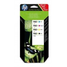 HP Multipack nero / ciano / magenta / giallo C2N93AE 940 XL C4906AE + C4907AE + C4908AE + C4909AE
