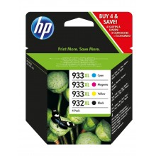 HP Multipack nero / ciano / magenta / giallo C2P42AE 932 XL / 933 XL 1x cartuccia HP 932XL + 3x cartucce HP 933XL: c +m +y