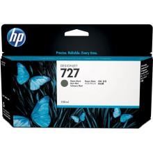 HP Cartuccia d'inchiostro nero (opaco) B3P22A 727 130ml