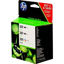 HP Multipack nero / differenti colori E5Y87EE 301 3x cartucce HP 301: 2X CH561EE + 1x CH562EE