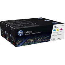 HP Multipack ciano / magenta / giallo U0SL1AM 131A CF211A + CF212A + CF213A