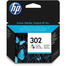 HP Cartuccia d'inchiostro differenti colori F6U65AE 302 Circa 165 Pagine