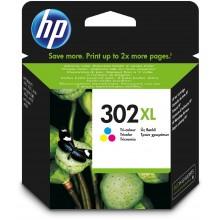 HP Cartuccia d'inchiostro differenti colori F6U67AE 302 XL Circa 330 Pagine