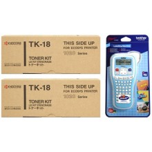 Kyocera Value Pack nero TK-18 MCVP