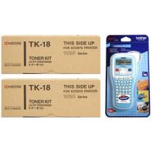 Kyocera Value Pack nero TK-18 MCVP