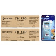 Kyocera Value Pack nero TK-130 MCVP 02
