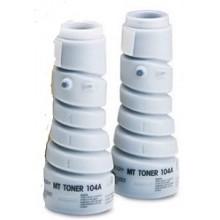 Laserjet Toner compatibile rigenerato garantito Minolta Laserjet T104BX2