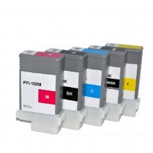 Cartuccia Plotter compatibile rigenerata garantita Canon Plotter PFI102BK