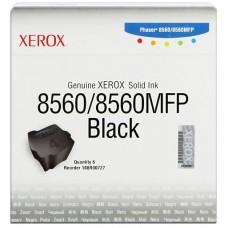 Xerox ColorStix nero 108R00727 Solid Ink, pacco con 6 pezzi