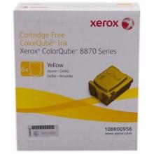 Xerox ColorStix giallo 108R00956 17300 pagine Solid Ink, pacco con 6 pezzi