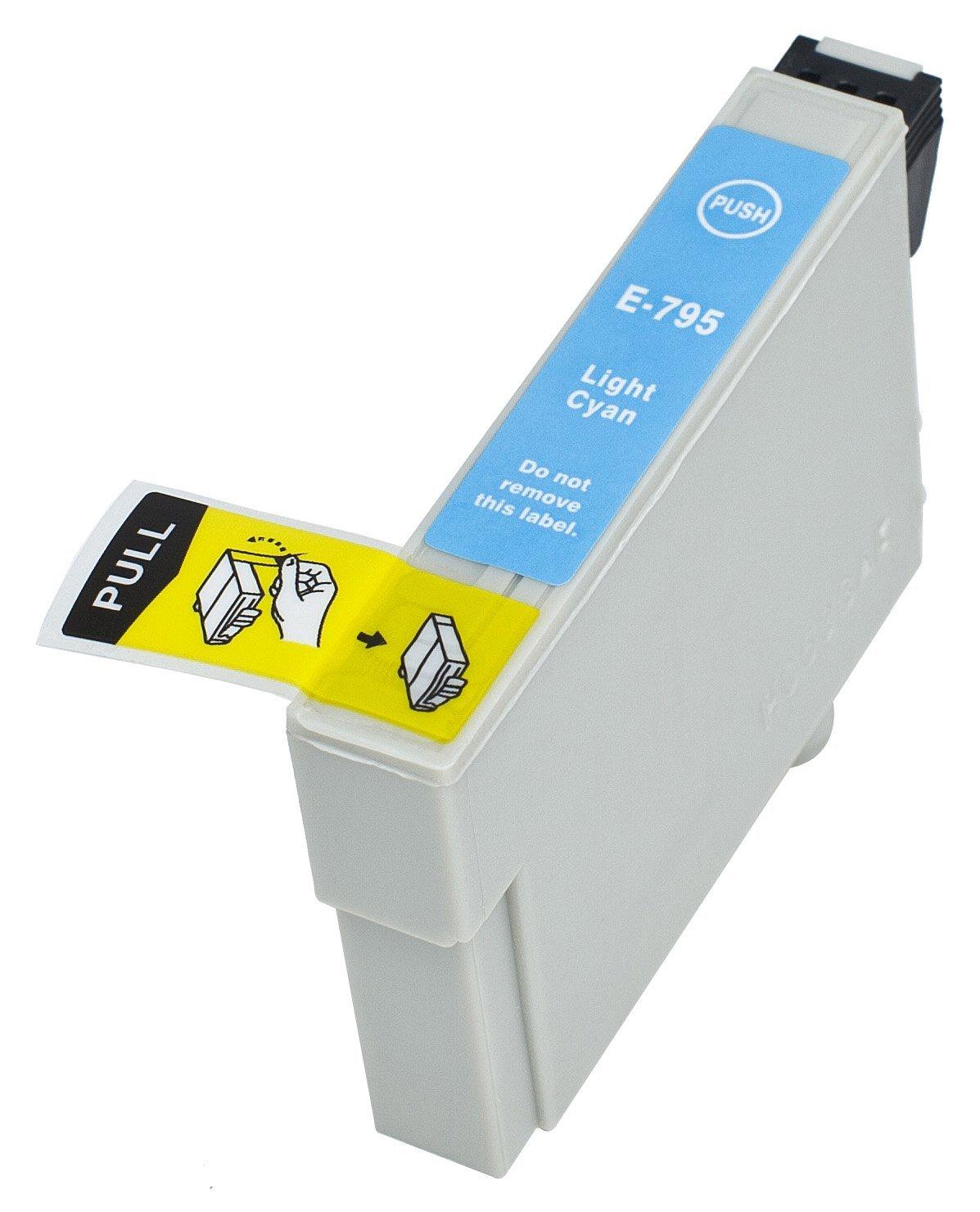 T0795 CL Ciano Light Epson compatibile