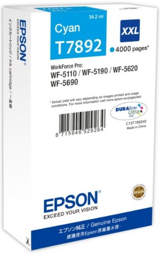 Epson Cartuccia d`inchiostro ciano C13T789240 T7892