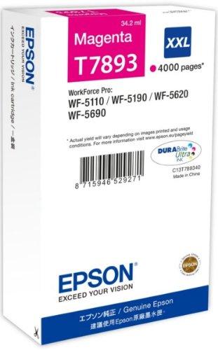 Epson Cartuccia d`inchiostro magenta C13T789340 T7893