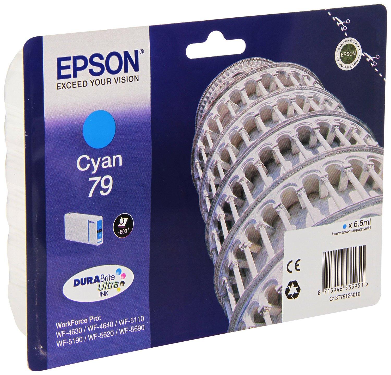 Epson Cartuccia d`inchiostro ciano C13T79124010 T7912