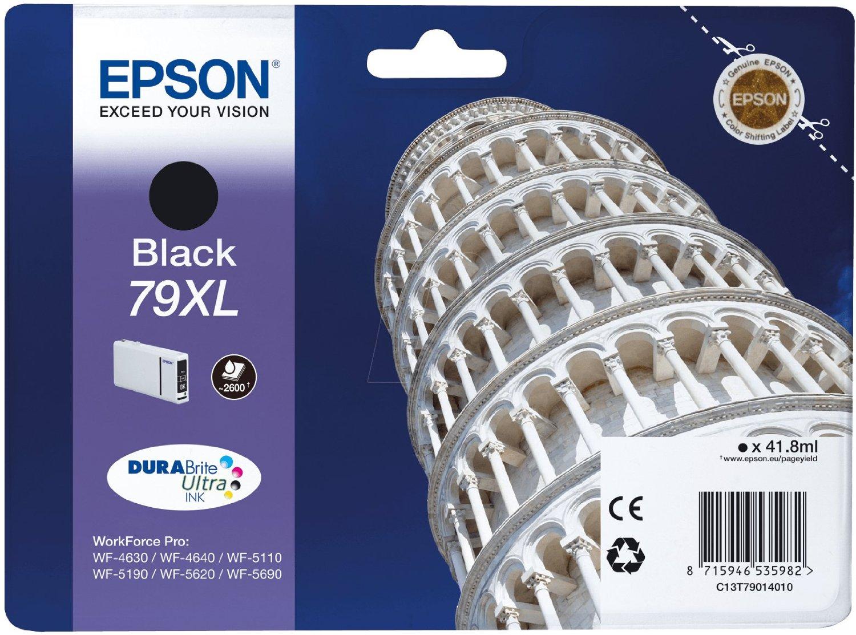 Epson Cartuccia d`inchiostro nero C13T79014010 T7901